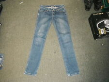 "Alcott Slim Leg Jeans Waist 30"" Leg 34"" Faded Dark Blue Ladies Jeans"