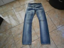 H1660 Levis 519 Jeans W27 Mittelblau ohne Muster
