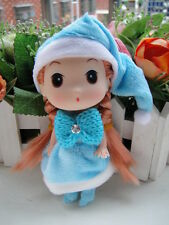 Mini Blue Hat Ddung Dolls CellPhone Backpack Car Keychain Baby Girl Xmas Gifts
