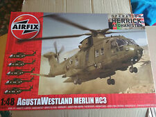 AIRFIX 1/48  AGUSTA MERLIN HC3 HELICOPTER   brand new & sealed