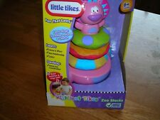 "NEW! ""LITTLE TIKES"" ZOO STACKS AGES 6 MONTHS & UP"