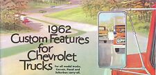 1962 CHEVROLET TRUCK  GENUINE ACCESSORIES BROCHURE-ALL MODEL TRUCKS