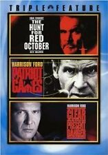 Brand New DVD Jack Ryan 3 Pack (The Hunt for Red October / Patriot Games / Clear