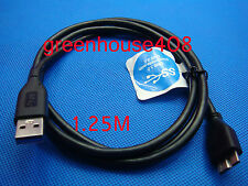WD Western Digital My Book Essential Mini USB 3.0 A to Micro B Cable 4FT 1.2M