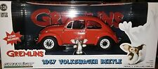 Gremlins 1967 VW Bug Volkswagen Beetle Diecast Car 1:24 Greenlight 7 inch Orange