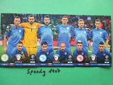 Road to UEFA Euro 2016 Line Up Slovenija Slowenien  Adrenalyn Panini France