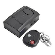Motorcycle Motorbike Scooter Anti-Theft Security Alarm Vibration Remote F5