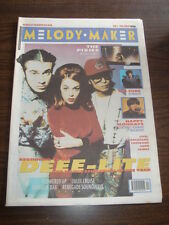 MELODY MAKER 1990 NOVEMBER 3 DEEE-LITE PIXIES CURE HAPPY MONDAYS CHARLATANS