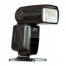 Kenro Standard Speedflash Flashgun for Canon & Nikon in Black KFL101 (UK Stock)