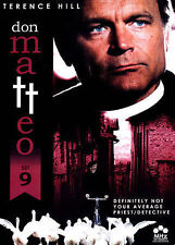 Don Matteo: Set 9 (DVD, 2015, 3-Disc Set)  w/Terrence Hill MHz Networks 4-Discs