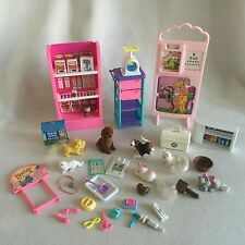 Barbie Doll Pretty Pet Parlor Baby Care Center So Much To Do Mattel Accessories