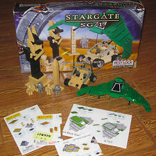 Stargate SG-1 Best-Lock DEATHGLIDER ATTACK Construction Block Set Over 375 Pcs