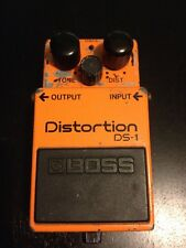 Boss DS-1 Distortion MIJ! 80s Made In Japan Overdrive Fuzz Vintage!International
