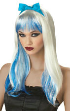 Blue and White Enchanted Tresses Alice Wig