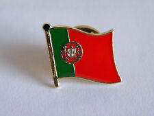 Portugal Portuguese Country Metal Lapel Pin Badge