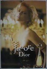 Affiche J'ADORE Dior 2011 CHARLIZE THERON