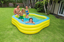 Intex grand plage vague forme famille swim center pataugeoire hors de l'eau fun