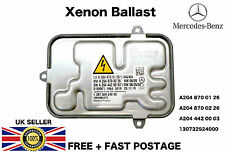 Mercedes C-Class W204 Xenon Headlight Ballast Control Unit ECU 130732924001
