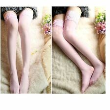 Sexy Tights Ladies  Sexy Stay Up  Pantyhose  Lace Top  Thigh High Stockings