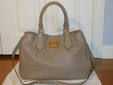 New Auth Marc by Marc Jacobs Large Leathe Hobo Satchel Shoulder Bag Tote Handbag