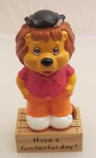 Get along Gang ceramic figure Rudyard Lion on stand  - 3 inches- NOT PVC