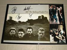 U2 unforgettable fire fully hand signed x4 frame