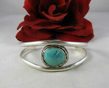Sterling Silver & Turquoise  Cuff Bracelet FERAL CAT RESCUE