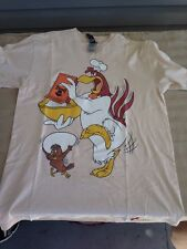 Mens Looney Tunes Johnny Cupcakes Foghorn Leghorn T-shirt Large