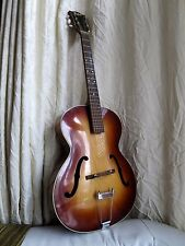 Beautiful Hofner Congress Acoustic Archtop Guitar Sunburst Johnny Cash 1964