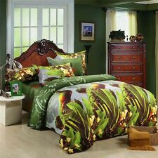 Mingjie Beutiful Fairy Green 3D Bedding Sets 4PCS Queen Size Bed Linen China