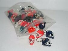 38 NHL NATIONAL HOCKEY LEAGUE MINI TOY HELMET KEY CHAINS VENDING TOYS