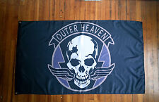 Outer Heaven Metal Gear Solid Flag from The Phantom Pain and Venom Snake