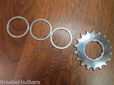 18T SINGLE SPEED COG SPROCKET GEAR WITH SPACERS