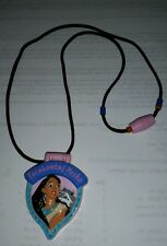Pocahontas Locket  Disney Applause Plastic Jewelry VERY RARE