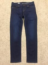 GAP 1969 REAL STRAIGHT Dark Wash JEANS size 29 (Inseam apprx 31.5)   EUC  A7
