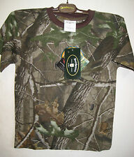Childrens REALTREE Camouflage  Tee- Shirt - size 128 cm approx age 7/8-Stalking