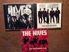 The Hives [3 CD Alben] Veni Vidi Vicious + The Black and White Album + Your New