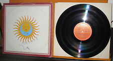 King Crimson ‎– Larks' Tongues In Aspic   POLYDOR ITALIA 1980 33 GIRI 12""