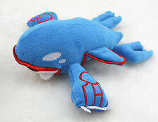 "Pokemon Figure Big Water Type Kyogre Stuffed Plush Toy Doll 16"" Christmas Gift"