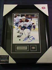 Alexei Emelin Montreal Canadiens signed 8x10 AUTO photo Frame Cadre Hockey HABS