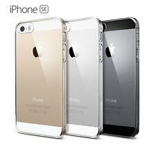 COQUE CASE ÉTUI HOUSSE PROTECTION TRANSPARENTE RIGIDE CRYSTAL pour IPHONE SE