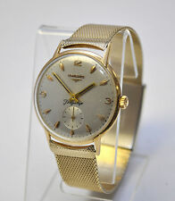 50's Mens Longines Flagship 18K Gold Cal. 30L. Fabulous Hand-wind Watch