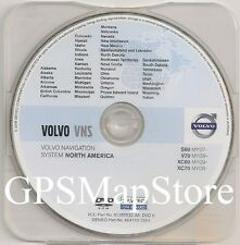 2007 2008 2009 2010 2011 Volvo S80 Vns Navigation Dvd West Coast Us Map Canada