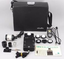 Rare!! 【Exc+++++】 Minolta Flash Meter III Light Meter Full Option Set From Japan