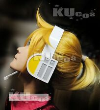 Kagamine Rin / Len VOCALOID short Cosplay Party hair wig + free wig cap