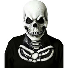 Forum Novelties Men's Cryptic Cadavers Skull Mask with Skeleton Chest Piece