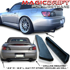 04 05 06 07 08 09 Honda S2000 Rear Under Bumper Lip Side Diffuser Splash Guard