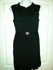 VERSACE WOMENS SLEEVELESS RIBBED DRESS BRAND NEW WITH TAGS SIZE 8 US REG $495