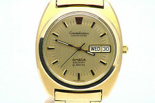 Ohm Ω Ohm Ω VINTAGE OMEGA CONSTELLATION f300Hz cronómetro Day-Date cal 1260 Ω Ohm Ω Ω