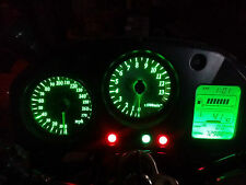 GREEN VFR800 RC46 98-01  led dash clock conversion kit lightenUPgrade